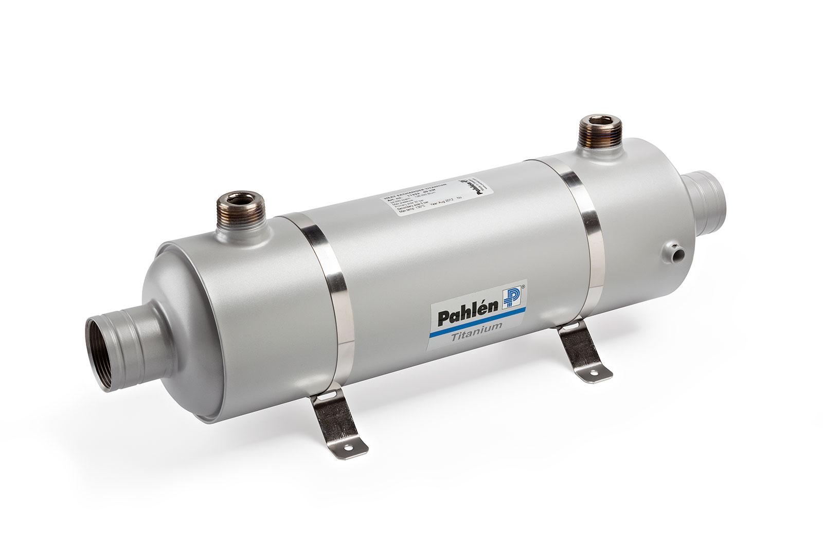 Heat exchanger Hi-Flow titanium